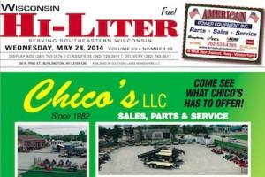 Wisconsin Hi-Liter 5/28/14