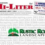 Wisconsin Hi-Liter 5/7/14