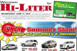 Wisconsin Hi-Liter 6/11/14