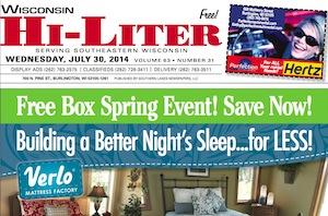 Wisconsin Hi-Liter 7/30/14