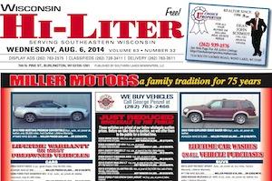 Wisconsin Hi-Liter for 8/6/14