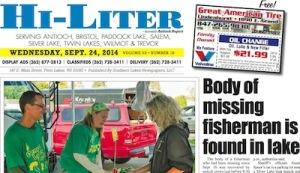 Illinois Hi-Liter for 9/24/14
