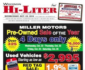 Wisconsin Hi-Liter for Oct. 22, 2014
