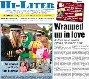 Illinois Hi-Liter for 10/29/14