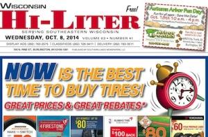 Wisconsin Hi-Liter for 10/8/14