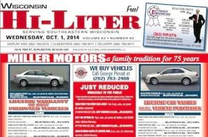 Wisconsin Hi-Liter for 10/1/14