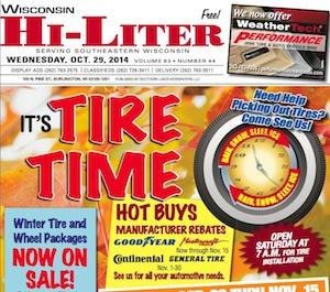 Wisconsin Hi-Liter for 10/29/14