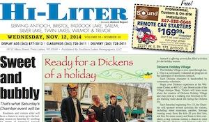 Illinois Hi-Liter 11/12/14