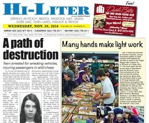 Illinois Hi-Liter for 11/26/14