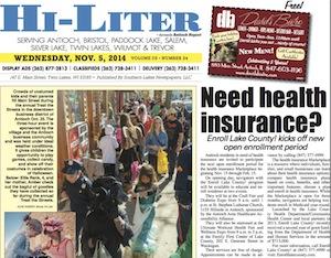 Illinois Hi-Liter for 11/5/14
