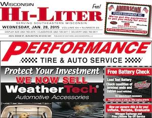 Wisconsin Hi-Liter for 1/28/15