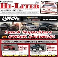 Wisconsin Hi-Liter 1/21/15