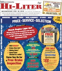 Wisconsin Hi-Liter 2/18/15