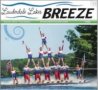 Lauderdale Lake Breeze Aug. 2015