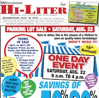 Wisconsin Hi-Liter 8/19/15