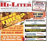 Wisconsin Hi-Liter 9/23/15