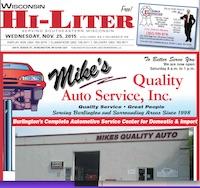 Wisconsin Hi-Liter 11/25/15