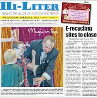 Illinois Hi-Liter for 3/9/2016