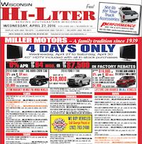 Wisconsin Hi-Liter for 4/27/2016