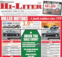 Wisconsin Hi-Liter for 6/15/2016