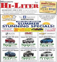 Wisconsin Hi-Liter for 6/8/2016