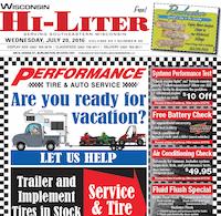 Wisconsin Hi-Liter for 7/20/2016