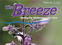 Whitewater Lake Breeze for July/August 2016