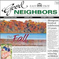 East Troy Good Neighbors for Aug. 2016