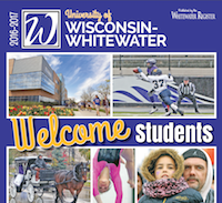 UW Whitewater Back to School for 2016