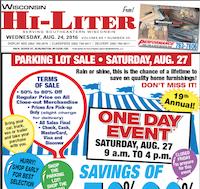 Wisconsin Hi-Liter for 8/24/201