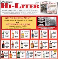 Wisconsin Hi-Liter for 8/31/2016