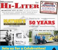 Wisconsin Hi-Liter for 9/28/2016