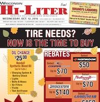 Wisconsin Hi-Liter for 10/12/2016