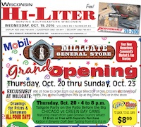 Wisconsin Hi-Liter for 10/19/2016