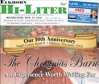 Elkhorn Hi-Liter for 11/23/2016
