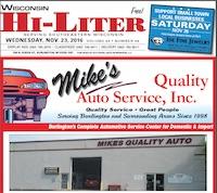 Wisconsin Hi-Liter for 11/23/2016