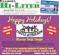 Elkhorn Hi-Liter for 12/21/2016
