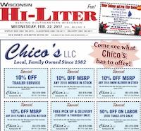 Wisconsin Hi-Liter for 2/22/2017