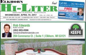 Elkhorn Hi-Liter for 4/19/2017