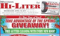 Wisconsin Hi-Liter for 4/19/2017