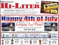 Wisconsin Hi-Liter for 6/28/2017