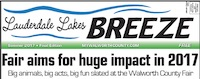 Lauderdale Lakes Breeze for Summer 2017