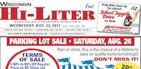 Wisconsin Hi-Liter for 8/23/2017
