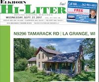 Elkhorn Hi-Liter for 9/27/2017