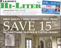 Elkhorn Hi-Liter for 9/20/2017
