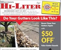 Wisconsin Hi-Liter for 9/27/2017