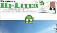 Elkhorn Hi-Liter for 2/28/2018