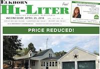 Elkhorn Hi-Liter for 4/25/2018