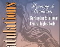 Burlington and Catholic Central high schools Class of 2018.