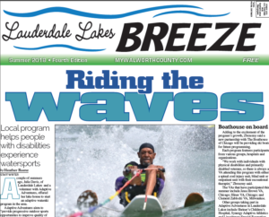 Lauderdale Lakes Breeze for Summer 2018 fourth edition